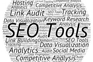 Graphic with SEO keywords